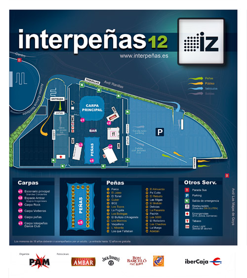 Plano Interpeñas 2012